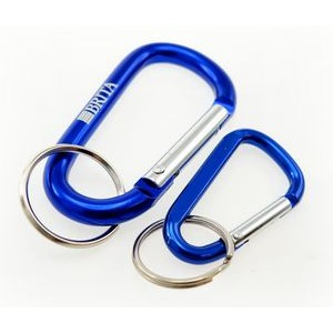 Imported Laser Engraved Carabiners w/ Split Ring