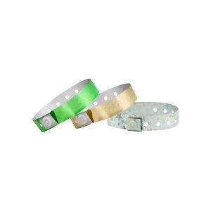 Plastic In-Stock Regular Holographic Wristbands