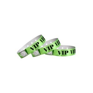 Plastic In-Stock Regular Design Holographic Wristbands