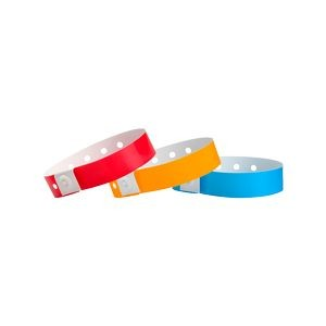 Plastic In-Stock Regular Solid Color Wristbands
