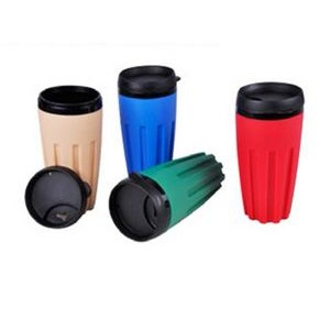 16 Oz. Insulated Propylene Mug W/Soft Grip