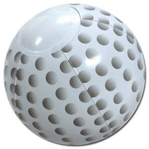 "6"" Inflatable Golf Ball Beach Ball"