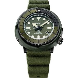 Mens Solar Green Case Green Dial