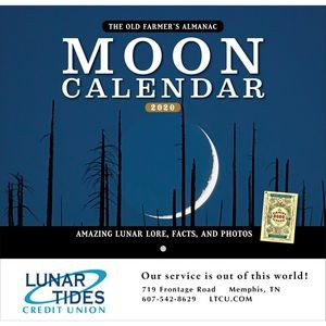 2020 The Old Farmer's Almanac Moon - Stapled