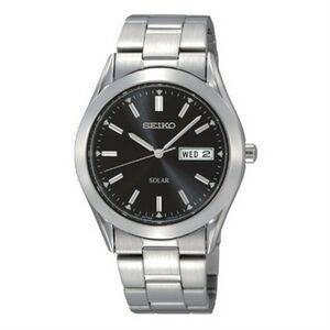 Seiko Men's Multi-function Watch w/ Black Round Dial