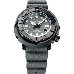 Mens Solar Grey Case Gray Dial