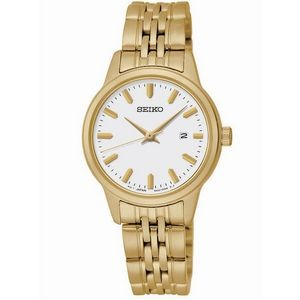 Seiko Women's PRIME Gold-Tone Stainless Steel Watch