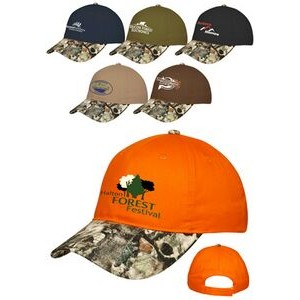 Velcro Closure Camo Visor Baseball Caps