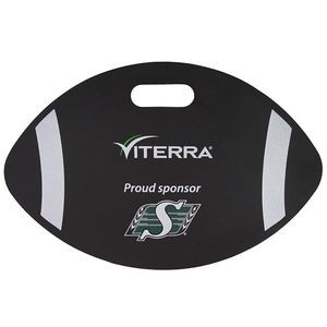 "14"" Football Weatherproof Cushion 3/8"""