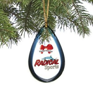 Holiday Shatterproof Ornament (3.1 to 4 Square Inch - Double Sided Dome)